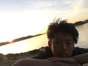 夕日とおがっち