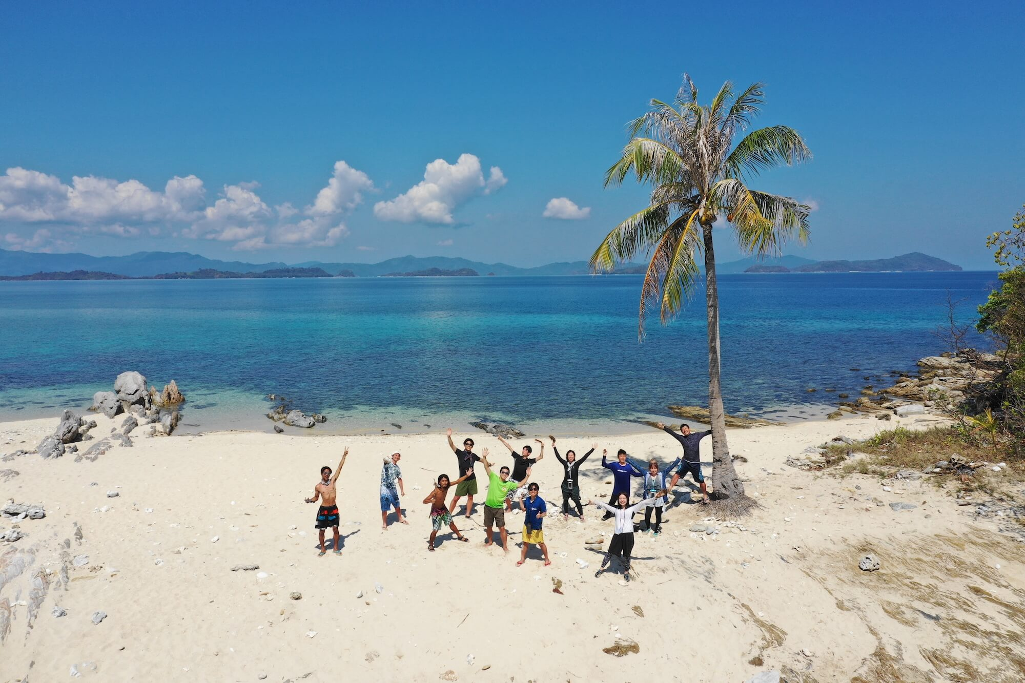 無人島キャンプinフィリピン